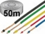 LiFY 1,0qmm red - Cold-flexible class-6 single conductor